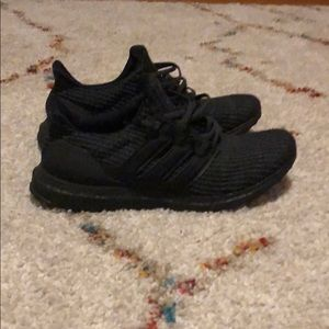 Adidas Ultra Boost 3.0 triple black sz 12 preworn